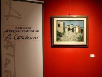 L'arte di Catarsini a Forte dei per ricordare la grande antologica per ricordare la grande antologica