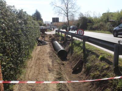 Strade sicure: Focette, in corso realizzazione attraversamento salva pedoni sulla via Aurelia tra via Cavour e via De Amicis