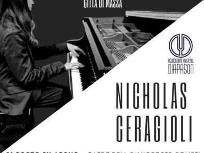 Il Talentuoso Nicholas Ceragioli sul podio del Concorso Internazionale per Giovani Musicisti – Città di Massa