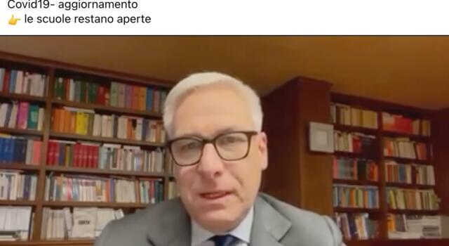 Coronavirus, sindaco Viareggio: In Versilia scuole restano aperte