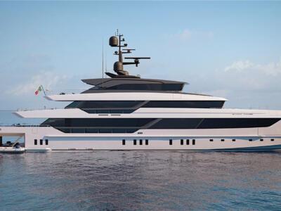 Cantieri Sanlorenzo avviano produzione nuovo yacht 575 Steel