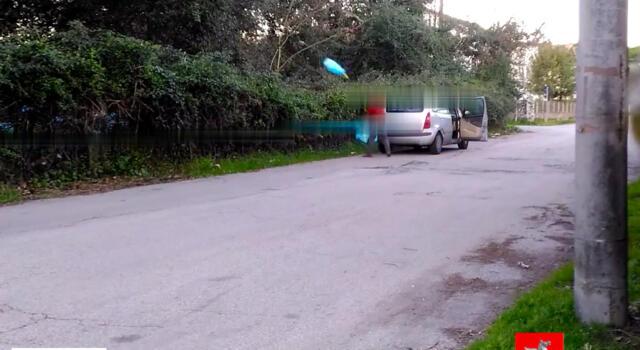 Foto-trappole ed indagini, incastrato abbandonatore rifiuti seriale