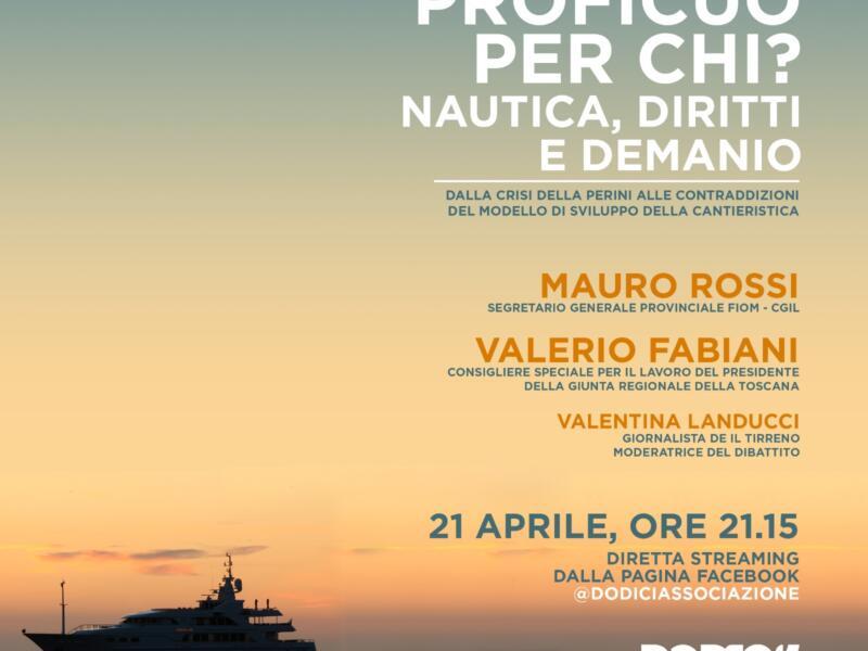 Dalla Perini alla crisi della nautica: dibattito online