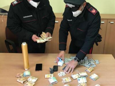 Individuata casa di spaccio, arrestato pusher e sequestri per migliaia di euro
