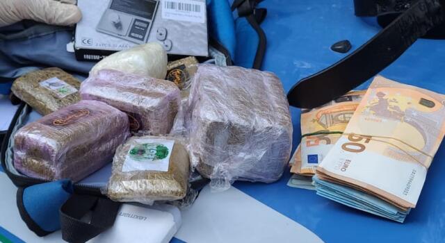 Operazione Levante, due arresti e altro stupefacente sequestrato nella pineta