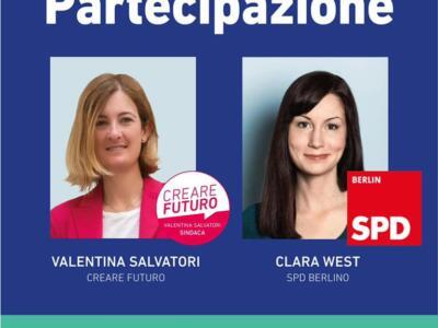 Valentina Salvatori e Clara West insieme sul web per parlare di donne in politica
