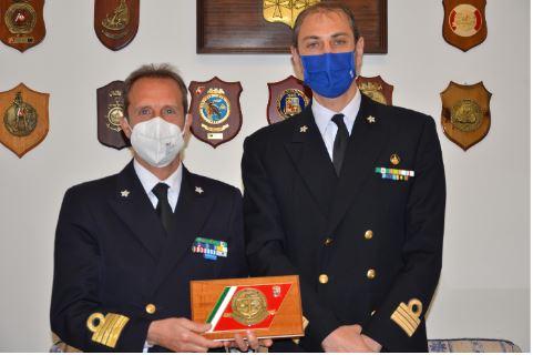 Visita del Direttore Marittimo Gaetano Angora alla Capitaneria di porto di Viareggio