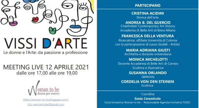 Women to be, evento online dedicato alle donne nell'arte
