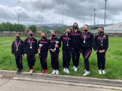 Successo per le ragazze de La Rosa di Seravezza nella fase uno del campionato nazionale di ginnastica artistica