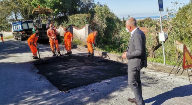 Al via lavori di asfaltatura in via delle Selezioni