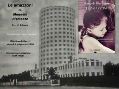 """""""L'Altra Villa"""" di Villa Bertelli, Manuela Piemonte presenta il libro """"Le Amazzoni"""""""