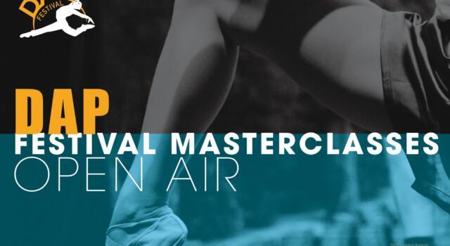 Dap Festival apre le iscrizioni alle masterclasses
