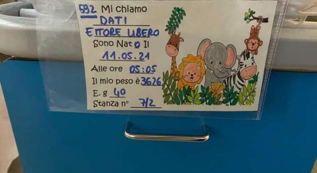Benvenuto Ettore Libero, congratulazioni a tutta la famiglia