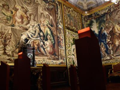 Museo nazionale di Palazzo Mansi: presentazione nuova illuminazione Sale arazzi fiamminghi