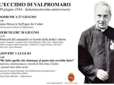 Celebrazioni 77esimo anniversario dell'eccidio di Valpromaro