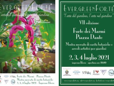 Torna con la settima edizione EvergreenForte dal 2 al 4 luglio, tante piante da collezione in mostra