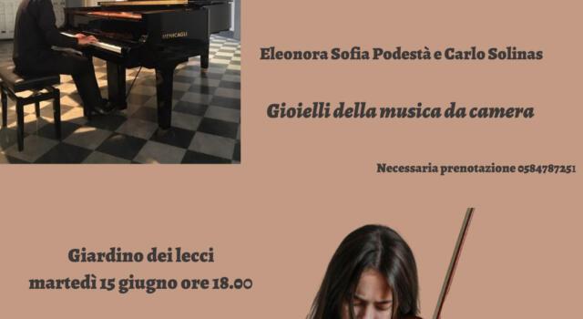 Il Duo Podestà – Solinas nel concerto Gioielli della musica da camera per violino e pianoforte