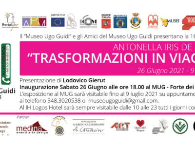 """Museo Ugo Guidi Forte dei Marmi, esposizione """"Trasformazioni in viaggio"""""""