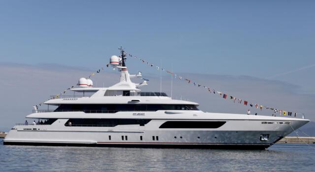 Cantieri Navali Codecasa, varato nuovo yacht di 56 metri
