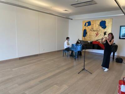 Selezione di musicisti a Villa Bertelli per formare l'Orchestra Sinfonica della Versilia