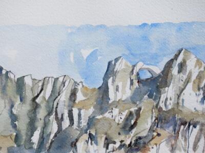 Omaggio alle Alpi Apuane, l'arte di Tano Pisano arriva a Forte dei Marmi