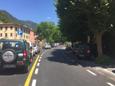 Seravezza, concluso l'intervento di asfaltatura da 160 mila euro