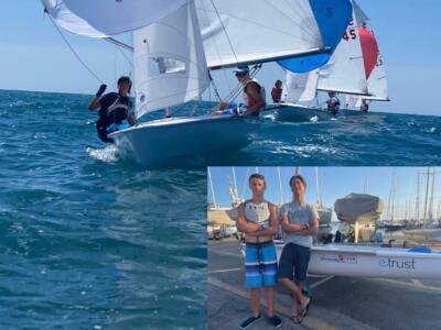 Vela: Manuel Scacciati e Leonardo Giovannini qualificati per il 420 Junior European Championship