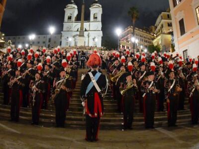 Concerto Banda Arma dei Carabinieri al Gran Teatro di Torre del Lago