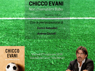 Il campione d'Europa Chicco Evani si racconta alla rassegna L'altra Villa di Villa Bertelli