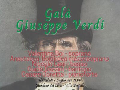 Galà Giuseppe Verdi, omaggio al grande compositore a Villa Bertelli