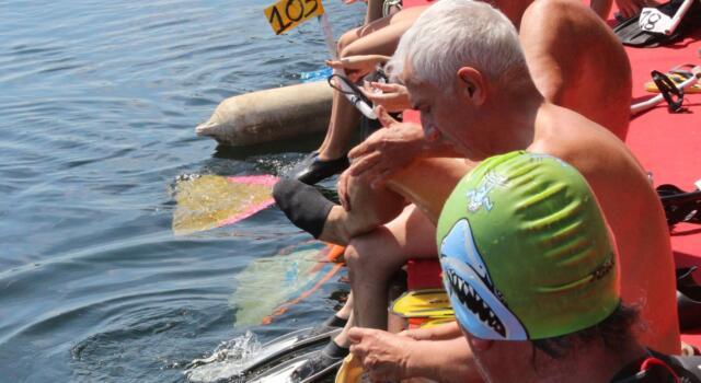 VII Memorial Vincenzo Simonini: gara di nuoto pinnato domenica 18 luglio