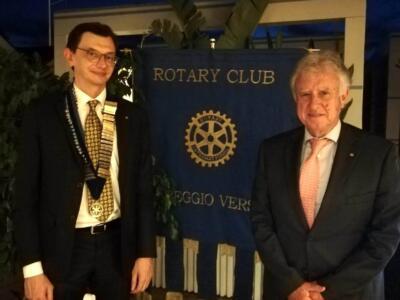 Passaggio di consegne per il Rotary Club Viareggio Versilia