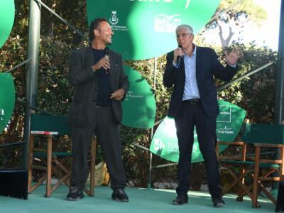 Mario Giordano e Vittorio Feltri al Caffè de La Versiliana