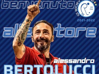 Hockey Pista, Alessandro Bertolucci nuovo allenatore del Trissino