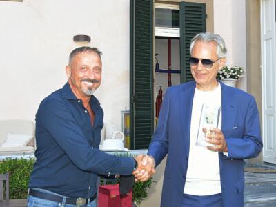 Premio Coriandolo d'Oro al maestro Andrea Bocelli