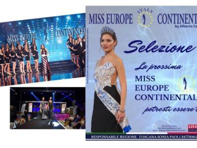 Le selezioni toscane di Miss Europe Continental tra moda e divertimento martedì 27 luglio