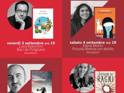 """""""Pietrasanta legge"""": un settembre all'insegna di incontri e libri."""