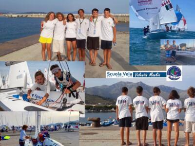 Vela, bilancio positivo  al 420 Junior European Championship dei tre equipaggi della Scuola Vela Mankin