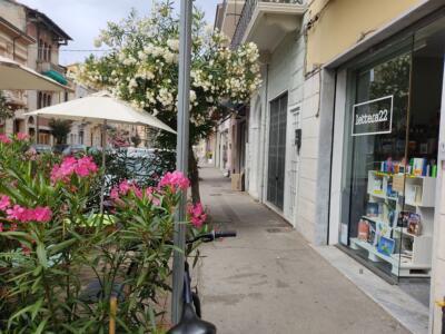 """""""Lettera 22"""", un luogo di storie, incontri e sorsi di felicità nel centro di Viareggio."""
