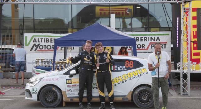 Nmd tecno di Massarosa superlativa al Rally città di Arezzo con la Renault Clio Rally 5