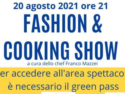 Cooking show con Franco Mazzei a Camaiore, appuntamento 20 agosto ore 21.15