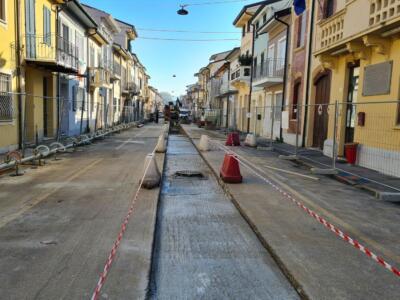 700 metri di nuove infrastrutture fognarie e acquedotto in via Machiavelli