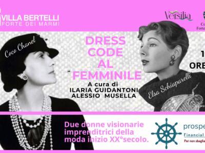 Appuntamento con l'alta moda a Villa Bertelli, Dresscode al femminile