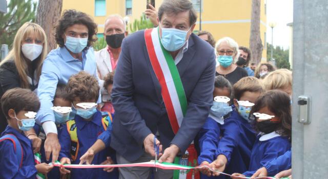 Scuola: sindaco inaugura anno scolastico e visita plesso di Strettoia, plessi più sicuri e belli