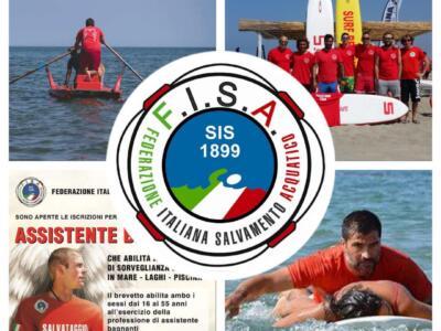 A breve avrà inizio il corso per il conseguimento del brevetto assistenti bagnanti FISA a Camaiore