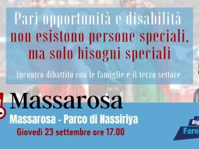 Carlo Bigongiari: l'agenda incontri della settimana