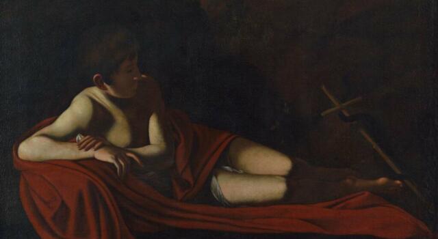 """Il """"San Giovannino giacente"""" di Caravaggio arriva a Camaiore dal 15 ottobre al 31 dicembre"""
