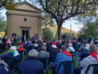 Grande partecipazione alla Giornata Antifascista a Sant'Anna di Stazzema